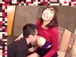 japanese big tits milking